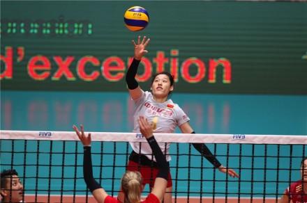 China-Belgium volleyball