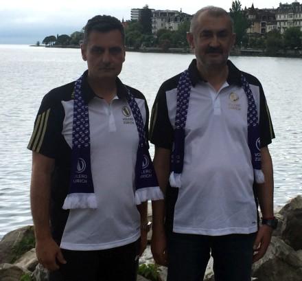 Zoran Terzic and Zeljko Bulatovic