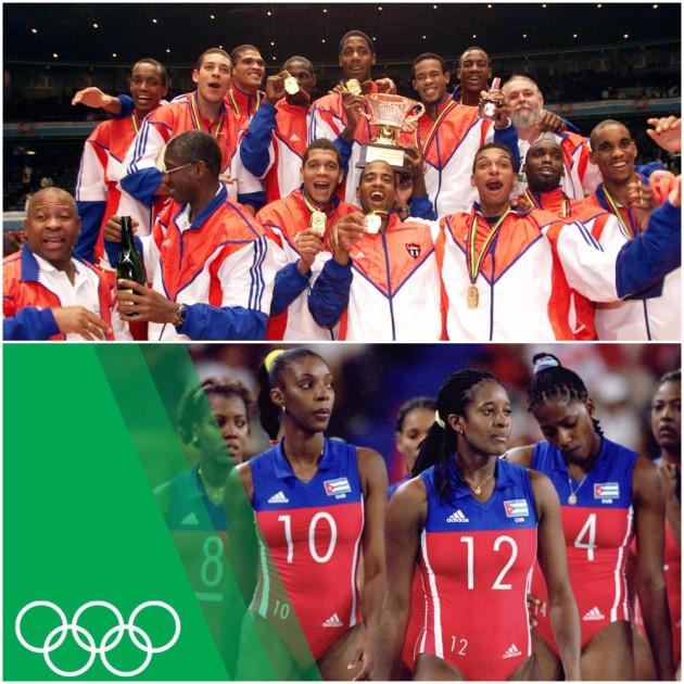 Cuban Men's & Women's NT 2000-2001