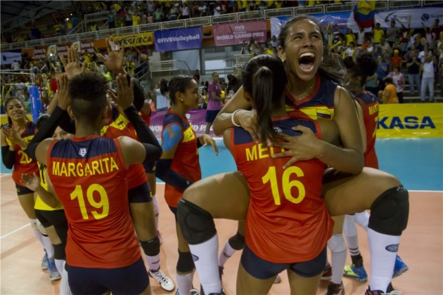Colombia celebrated victory