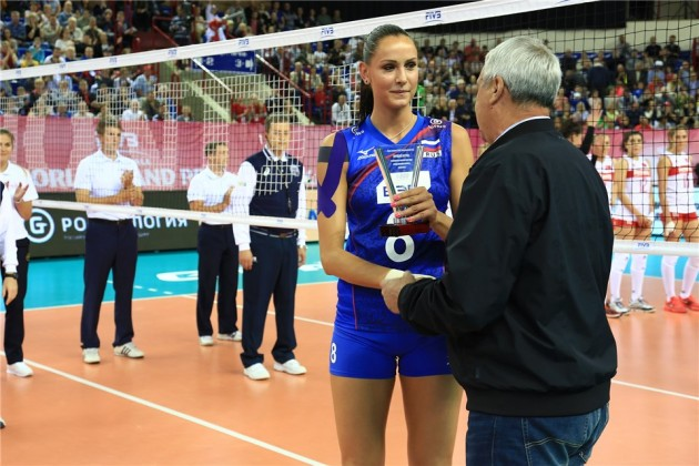 Nataliya Goncharova MVP of  Russian championship
