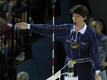 Zorica Bjelic volleyball referee