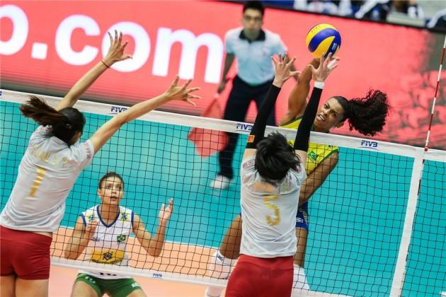 China vs Brazil