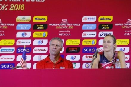 USA team on press conference