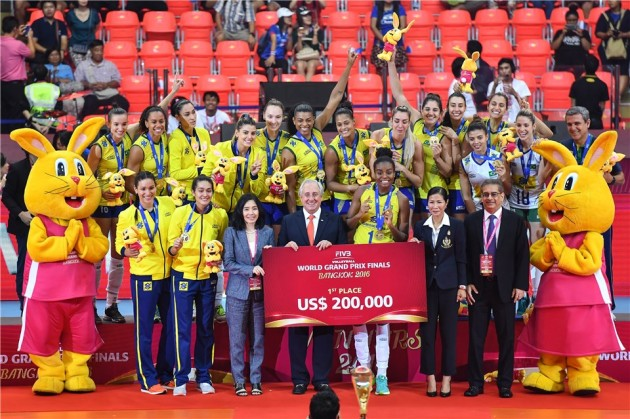 Brazil 1st place