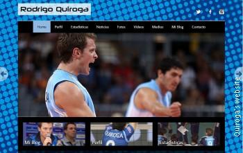 Quiroga's website